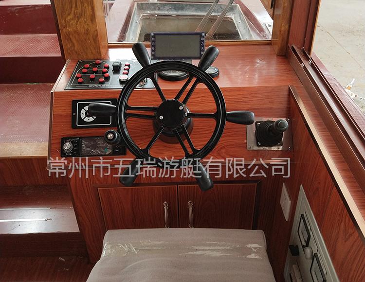 9.8米电动画舫船04