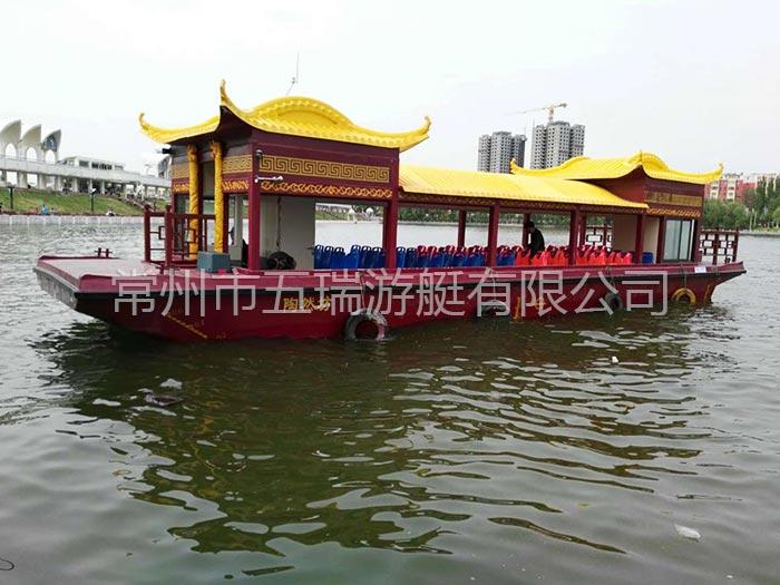16.8米画舫船